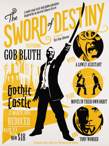 """The Sword of Destiny"" by Aled Lewis - arrested-development Fan Art"