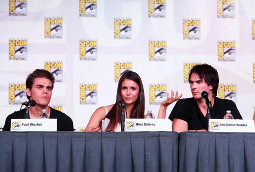 """The Vampire Diaries"" Screening - Comic-Con"