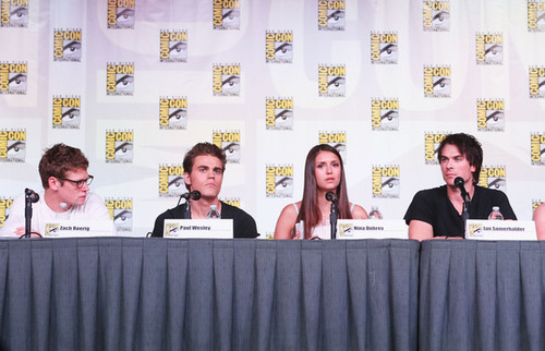 """The Vampire Diaries"" Screening - Comic-Con  - paul-wesley Photo"