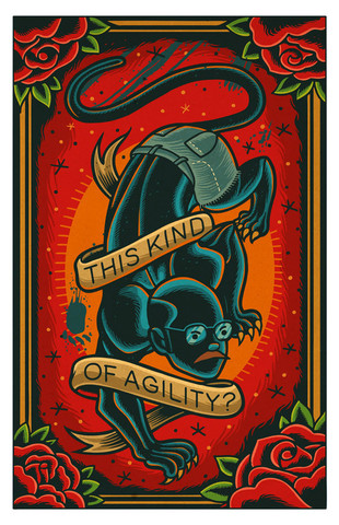 """This Kind of Agility"" by Dave Quiggle - arrested-development Fan Art"