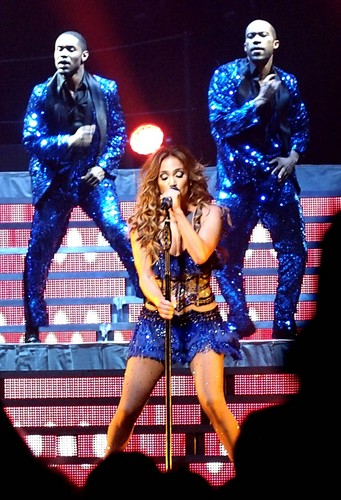 in concert at the Bell Centre in Montreal [15 July 2012]
