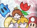 :) - princess-peach-daisy-and-rosalina photo