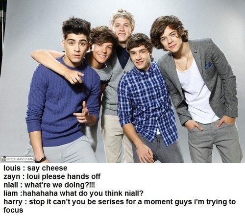 1D Funny moments