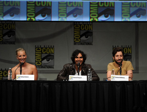The Big Bang Theory wallpaper possibly with a concert titled 2012 Comic-Con - Panel