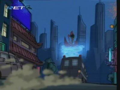 American Dragon: Jake Long hình nền containing a brownstone, a business district, and a đường phố, street entitled ADJL