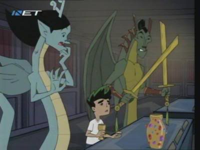 American Dragon: Jake Long achtergrond with anime titled ADJL