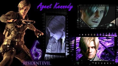 Leon Kennedy wallpaper with a concert entitled Agent Kennedy - RE6