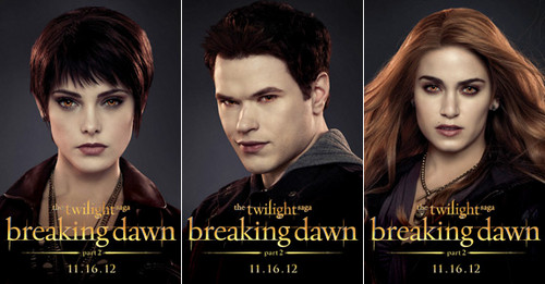 Alice, Jasper and the Cullen Posters