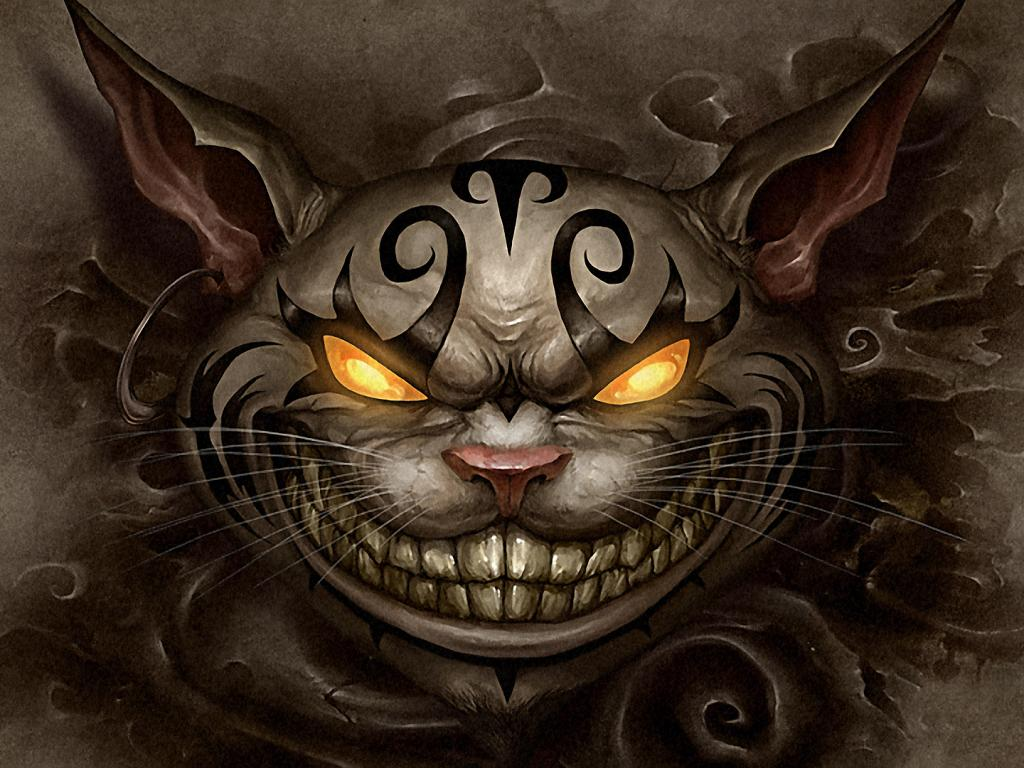 American mcgee's alice cheshire cat