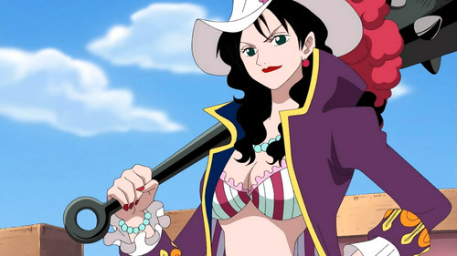 One Piece kertas dinding possibly with Anime entitled Alvida