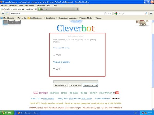 Am I the only one who's insulted by Cleverbot?