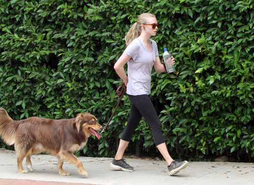 Amanda Seyfried Takes A Hike With Fin [July 13] - amanda-seyfried Photo