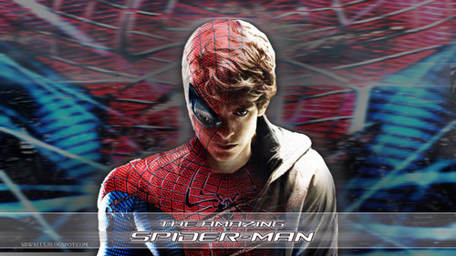 Spider-Man wallpaper possibly containing a show, concerto and a sign entitled Amazing Spiderman Movie wallpaper