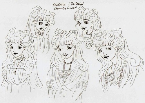 anastasia Drawing
