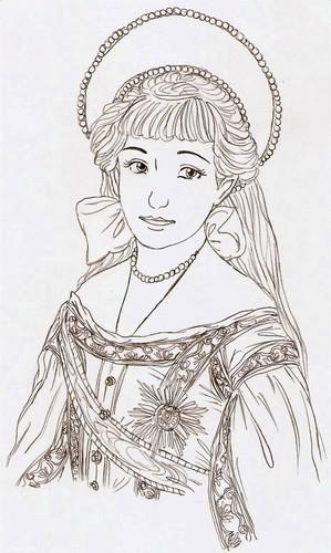 アナスタシア Drawing