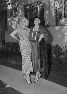 Jean Harlow And Her Mother