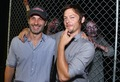 Andrew линкольн and Norman Reedus