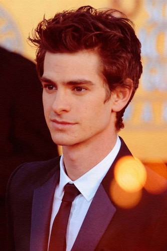 Andrew Garfield karatasi la kupamba ukuta possibly with a business suit called Andrew :::***