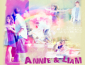 Annie and Liam - 90210 fan art
