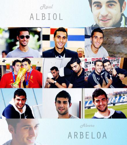 Arbeloa and Albiol