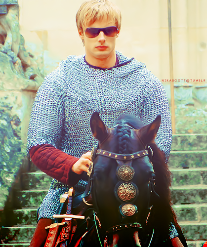 Arthur Pendragon aka Bradley James