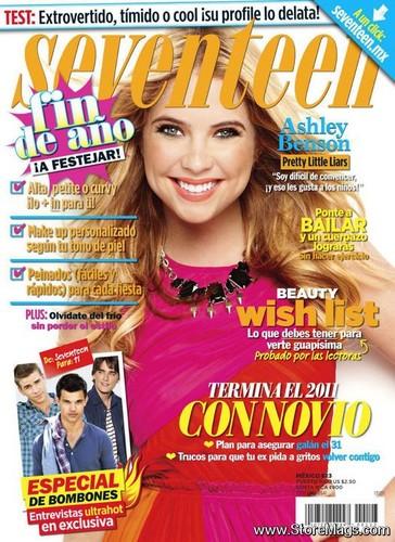 Ashley Benson cover Magazine