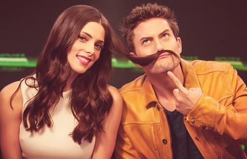 Ashley and Jackson - Comic Con 2012