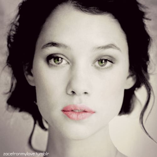 Astrid Berges-Frisbey wallpaper containing a portrait entitled Astrid Berges-Frisbey