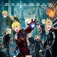 Avengers (Hetalia style)