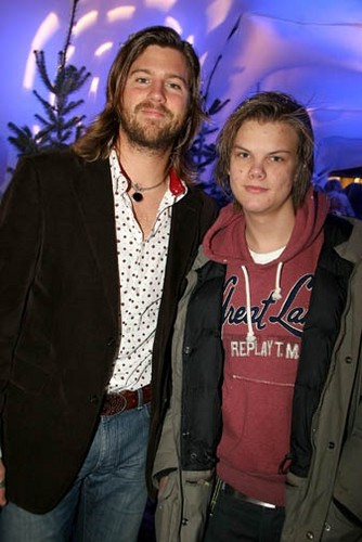 avicii and his Brother Anton
