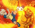 Axel fire blaze - inazuma-eleven photo