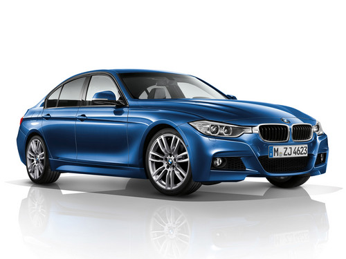 BMW wallpaper probably with a sedan and a coupe called BMW 3 Series M Sportpaket F30 2012