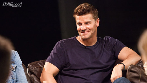 BTS Comic Con Photoshoot with David Boreanaz - bones Photo