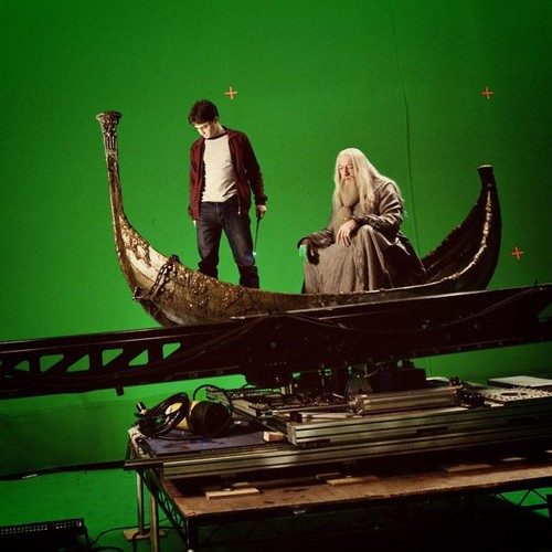 BTS foto from HP and Half Blood Prince