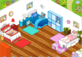 Baye, Rae, and Delilah's room on Winx RP. - internet-camp-half-blood fan art
