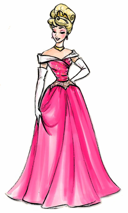 Beautiful Princess Aurora