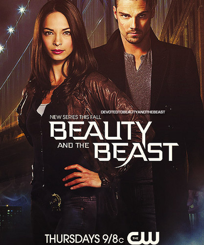 Beauty And The Beast CW Wallpaper Containing A Sign Portrait Titled