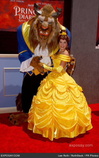 beauty and the beast homemade halloween costumes