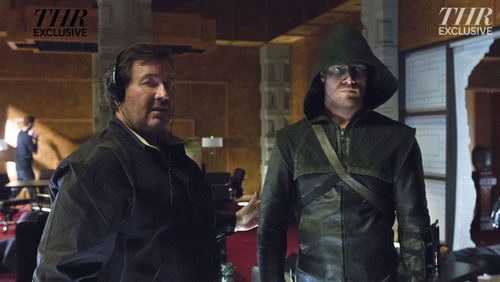 Behind the Scenes of the CW's 'Arrow'