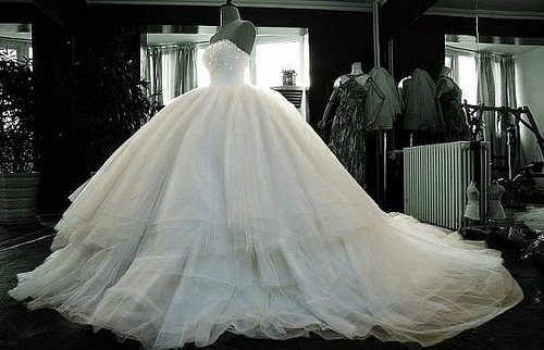 Believe in the beauty of your dreams - My wedding vestido