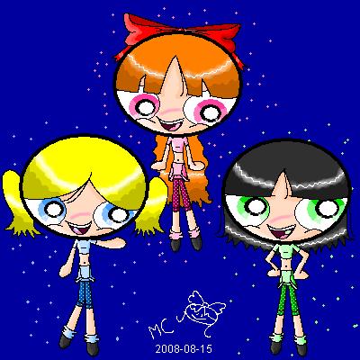 Blossom, Bubbles & Buttercup