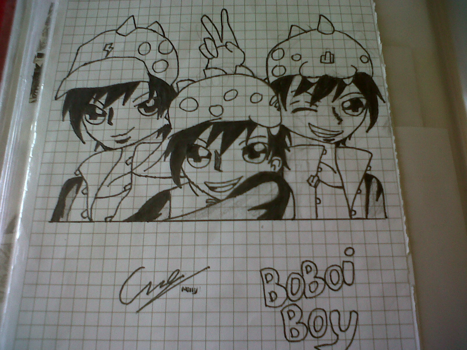 BoBoiBoy fan art da me