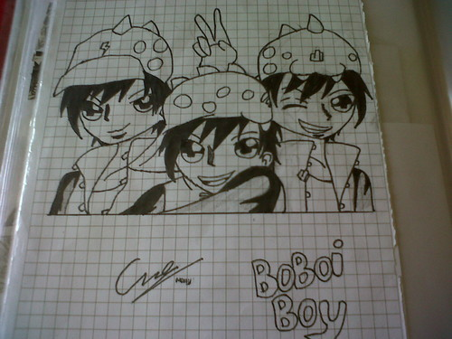 Boboiboy wallpaper called BoBoiBoy fan art by me
