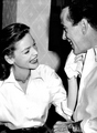 Bogie & Bacall - bogie-and-bacall photo