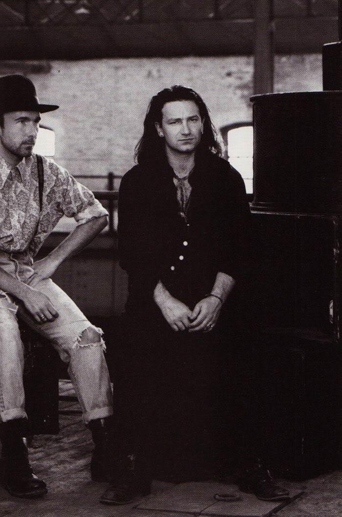 Bono and Edge