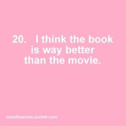 Bookfessions 1-20