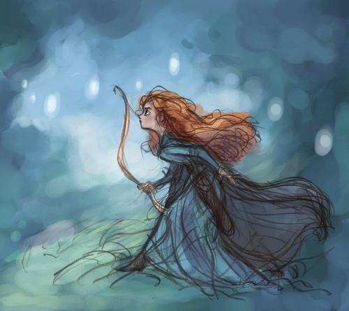 메리다와 마법의 숲 Merida