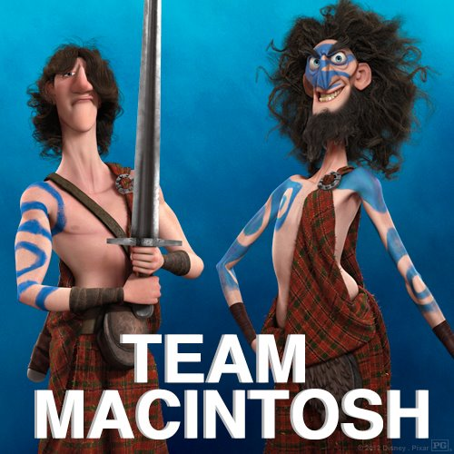 Merida - Legende der Highlands Hintergrund called Team Macintosh