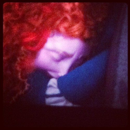 Merida crying