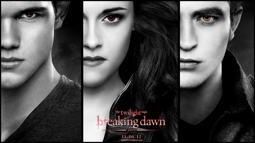 Breaking Dawn part 1&2 Обои